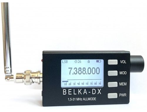 Belka DX Shortwave Receiver – Closeest Thing To A Spy Radio?