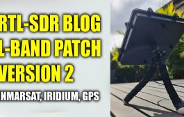 RTL-SDR BLOG L-BAND Patch Antenna Version 2 – Inmarsat – Iridium – GPS