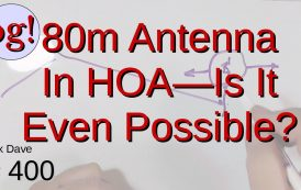 80M Antenna with HOA Constraints