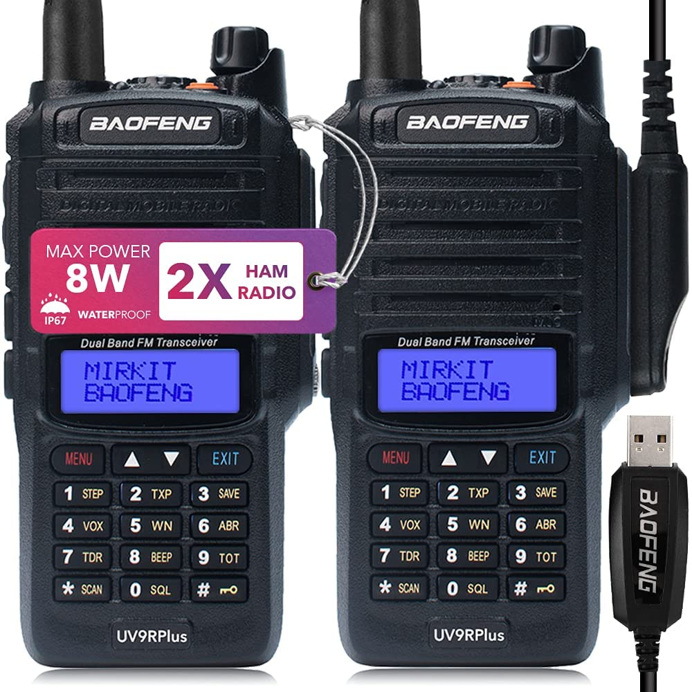 Baofeng UV-9R Model Comparison and Power Testing