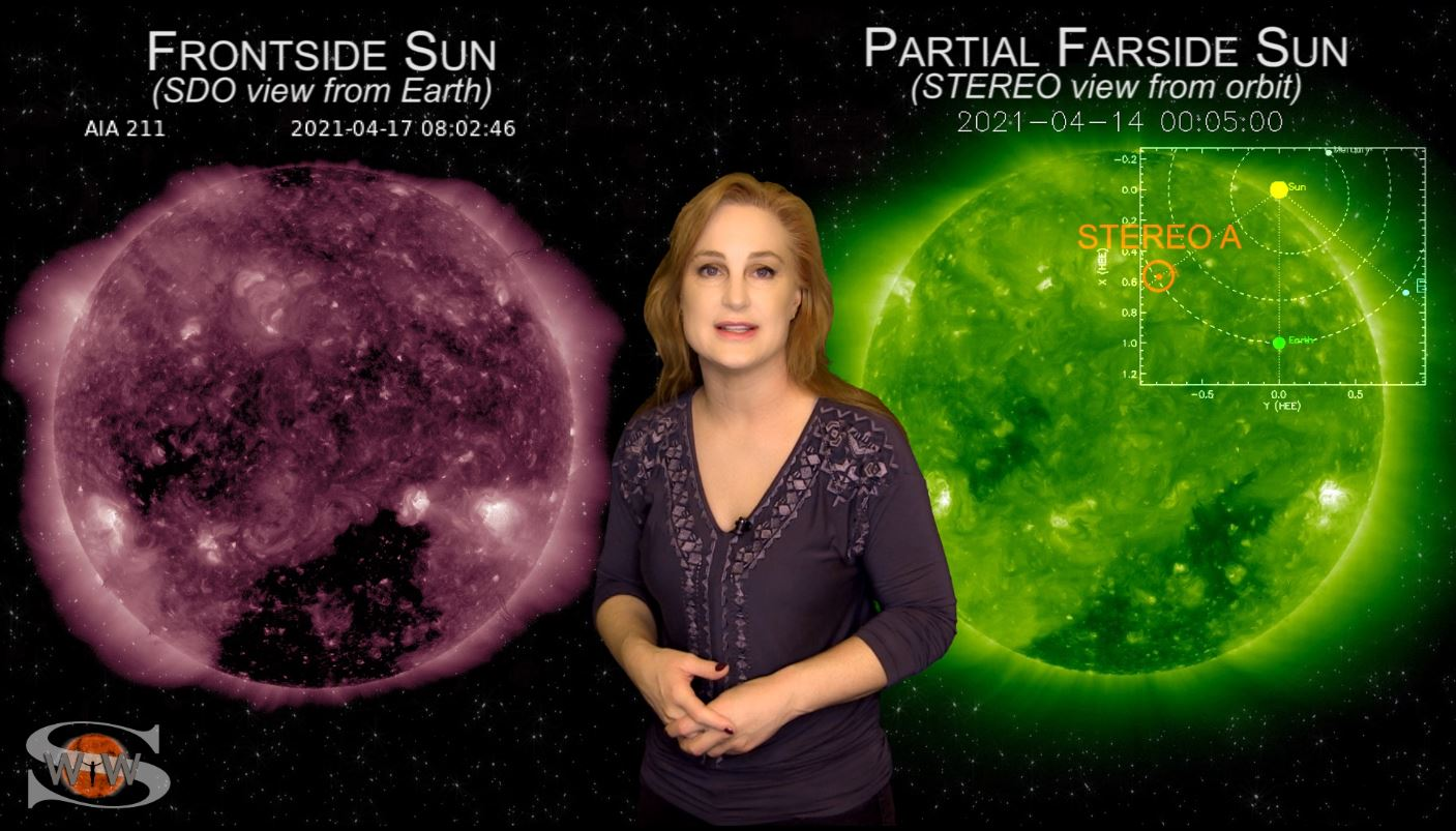Big Flares Return with Solar Storms Headed for Earth & Mars