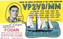 The VP2VB Danny Weil Memorial DXpedition is JIDXM 2020 DXpedition of the Year