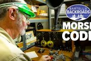 The last Morse code maritime radio station in North America   Bartell's Backroads
