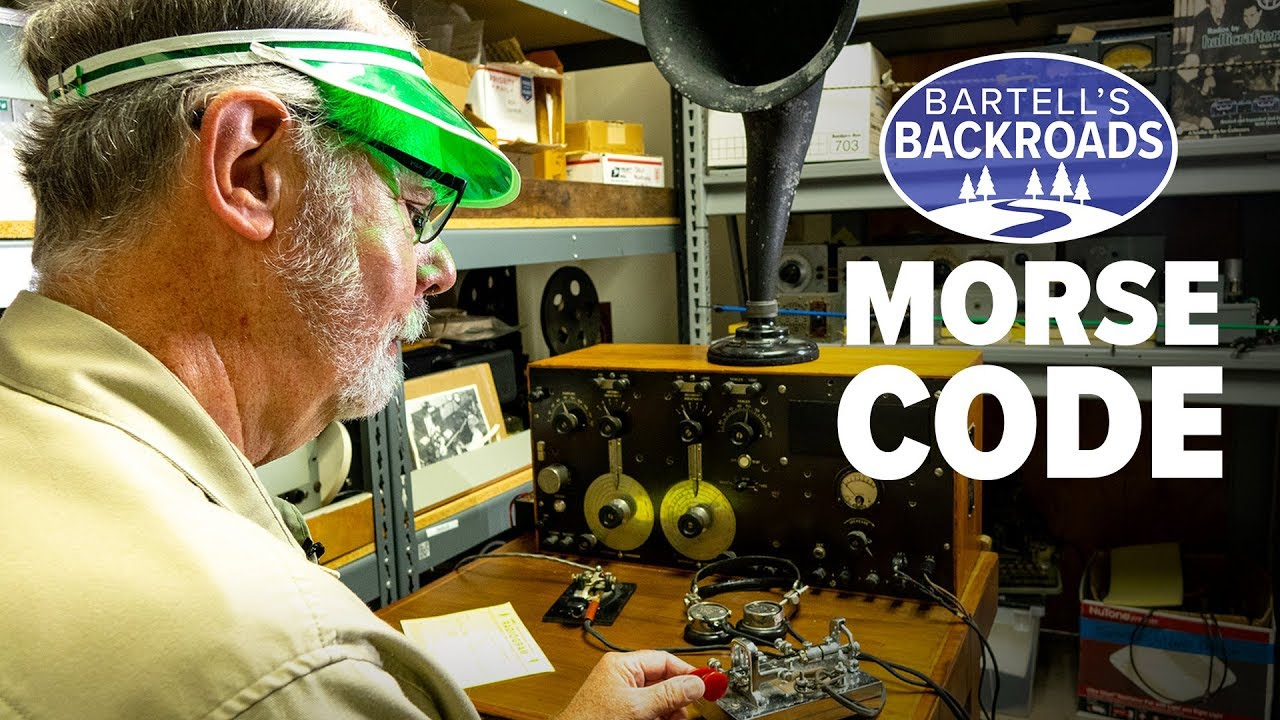 The last Morse code maritime radio station in North America | Bartell's Backroads