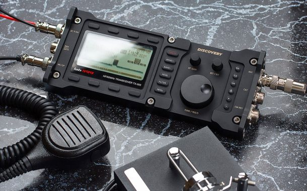 DISCOVERY TX-500 Arrives in UK. HF-6m 10W Transceiver