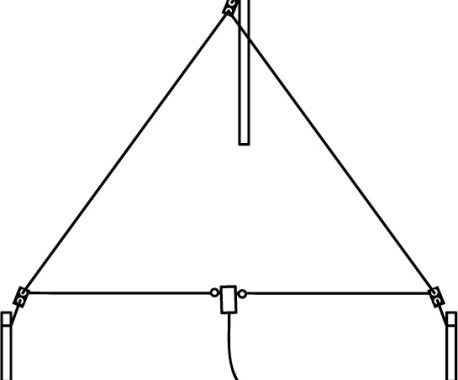 How to Build Cheap Wire Delta Loop Antenna