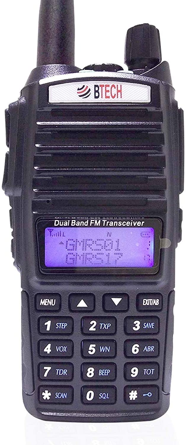 BTECH GMRS-V1 Review, Power Output Test   GMRS Repeater Capable Handheld Radio
