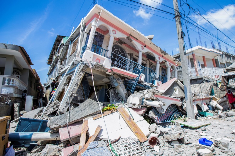 Radio Club of Haiti President Reports Significant Structural Damage from Earthquake