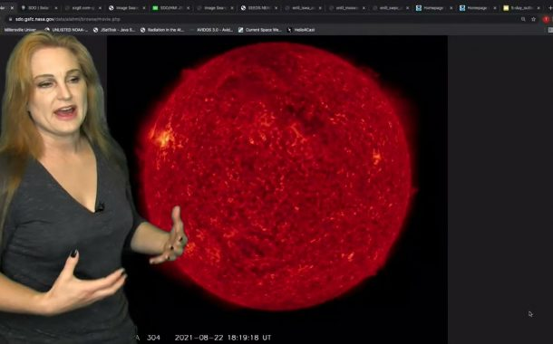 Direct Hit with a Side Swipe After Major Eye Candy | Informal Solar Storm Forecast 08.25.2021