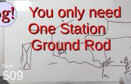 You only need one Station Ground Rod
