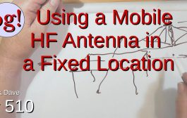 Using a Mobile HF Antenna in a Fixed Location