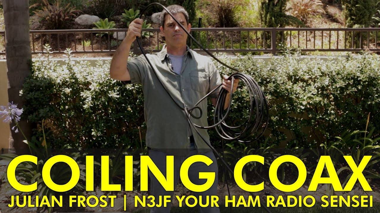 Quick Tip – Coiling Coax