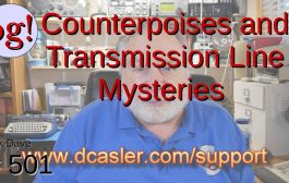 Counterpoises and Transmission Line Mysteries