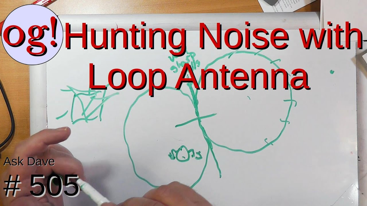 Hunting Noise with Loop Antenna