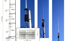 HF Multiband Vertical Antenna – FALCON OUT-250B
