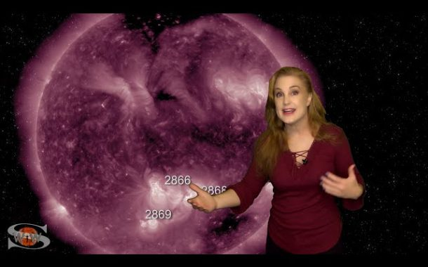 Big Flare Players and Side-Swiping Storms | Solar Storm Forecast 09.12.2021