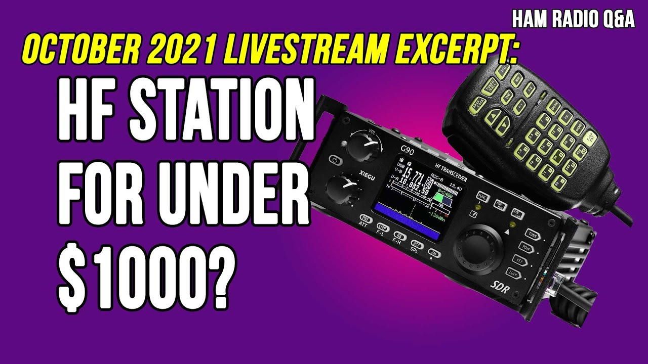 Set up an entire HF station for under $1000?
