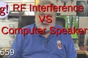 RF Interference VS Computer Speakers